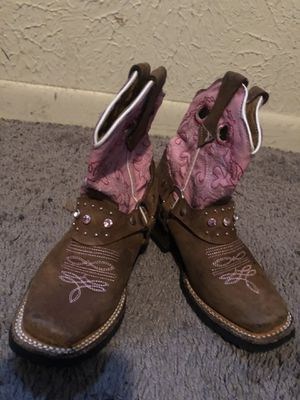 Botas de niña size 7 for Sale in Dallas, TX