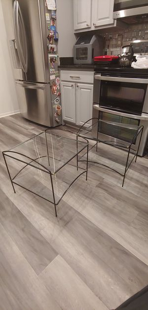 Matching Glass End Tables for Sale in Bowie, MD