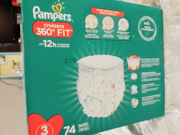 New Pampers Cruisers Diapers Size 3