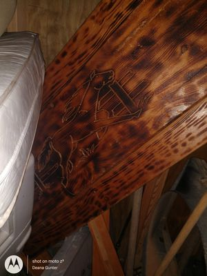 Twin solid wood bed frame for Sale in Gilbert, SC