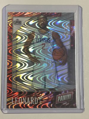 Kwahi Leonard Panini Reflector Basketball card for Sale in San Antonio, TX