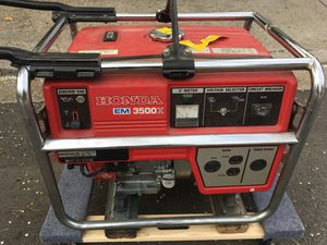 Honda Generator EM3500X for Sale in San Diego, CA