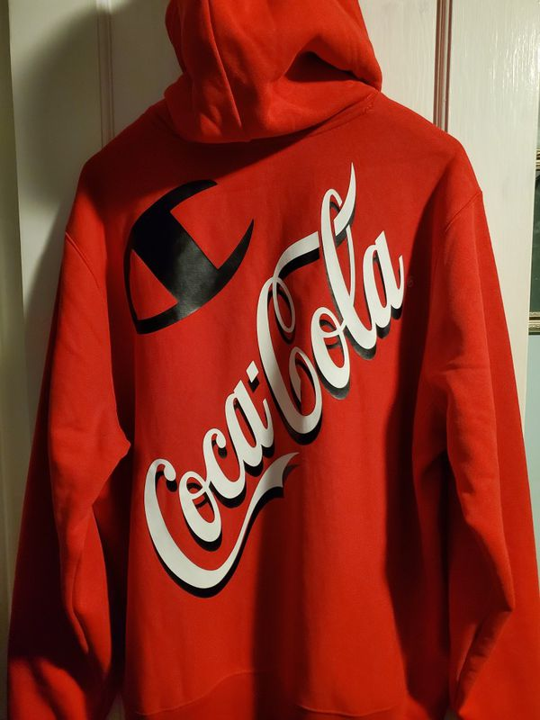 Champion sweater by Coca-Cola