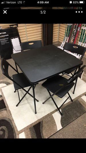 Five piece table and chair set for Sale in Holladay, UT