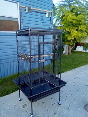 Bird cage brand new 24 x 22 x 68 tall for Sale in Palm Springs, FL