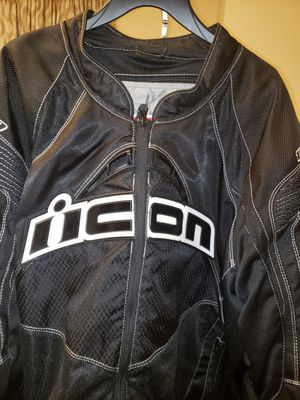 ICON Motorcycle Jacket for Sale in Baltimore, MD