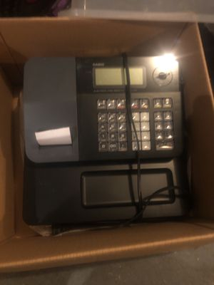 Casio cash register for Sale in Framingham, MA
