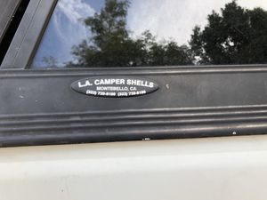 Camper Shell for Toyota t100 8' bed for Sale in Los Angeles, CA