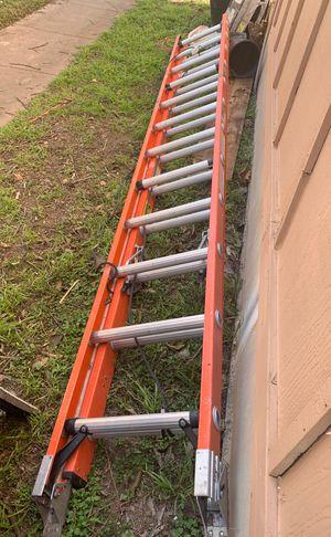 24 foot fiberglass Werner extension ladder for Sale in Austin, TX