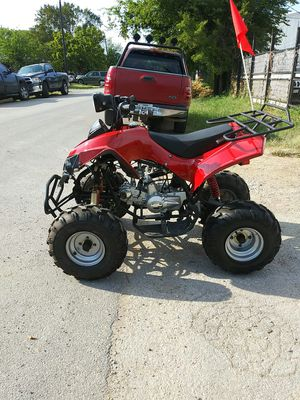 Motorcycles dirt bike 4 wheeler four wheeler go kart cuatrimoto Atv for Sale in Dallas, TX