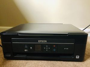 Epson printer scanner WiFi cloud ready - sleek design for Sale in Natick, MA