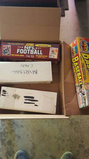 Baseball Football Basketball Cards for Sale in Sherwood, OR
