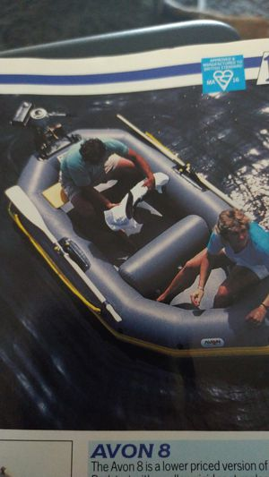 Inflatable boat AVON for Sale in San Bernardino, CA