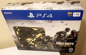 PS4 SLIM 1TB LIMITED CALL OF DUTY WW2 EDITION 100%🔥🔥 for Sale in Escondido, CA