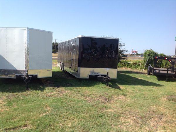 Nice Race Car or car hauler cargo trailer 8.5 x 32 salvation 2019