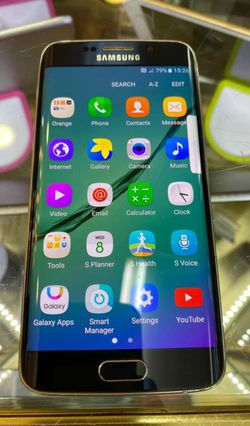 Samsung Galaxy S6 Edge, Factory Unlocked.. Excellent Condition. Like New . for Sale in Springfield,  VA