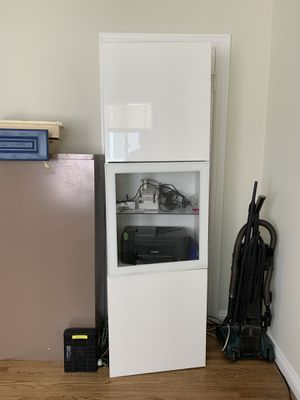 Cabinet, white storage for Sale in Glendale, CA