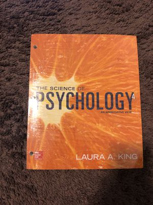 The Science of Psychology Textbook for Sale in FL, US