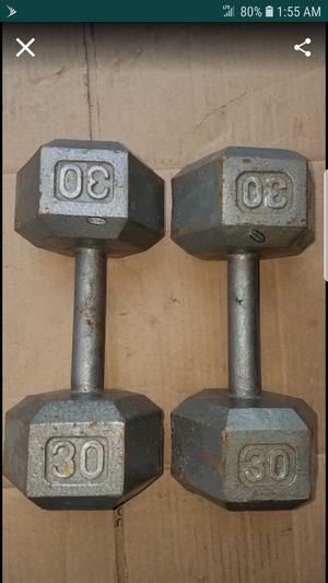 Hexhead dumbbells for Sale in Chicago, IL