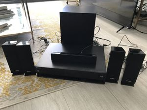 Sony 6-speaker Surround Sound with 3D Blu-ray Player for Sale in Miami, FL