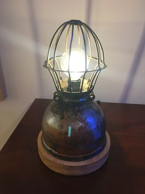 Vintage industrial steampunk lamp for Sale in Tysons, VA
