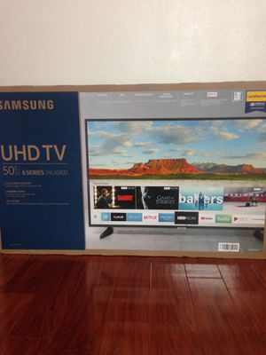 """SAMSUNG UHD TV 50"""" 6 series (NU6900) for Sale in City of Industry, CA"""