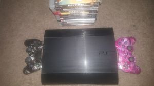 Ps3 W/ Games for Sale in Colorado Springs, CO