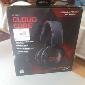 HYPERX Cloud Core Gaming Headset Like New for Sale in DeFuniak Springs, FL