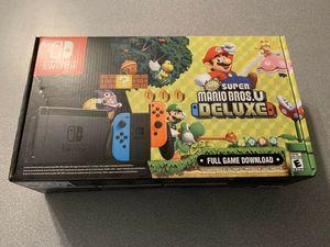 Nintendo switch mario u bundle for sale for Sale in Vidalia, GA