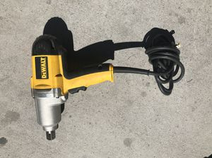 "Dewalt 3/4"" impact wrench DW294 corded for Sale in Las Vegas, NV"