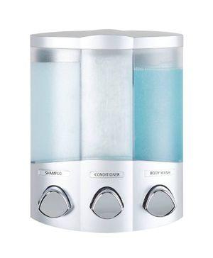 New, Better Living: Corner Trio Shower Dispenser in Satin Silver (Unopened Box) for Sale in Bartlesville, OK