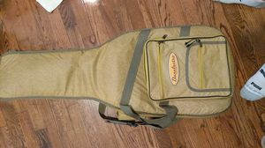 Guitar gig bag - danelectro brand - yellow tweed - barely used great quality for Sale in Greenville, NC