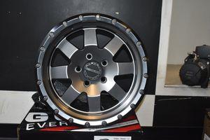 Raceline Defender Wheels GUN METAL 17x9 5x5 for Sale in Montclair, CA