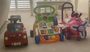 Kids cars toy/ walker for Sale in Tempe, AZ