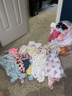 Baby girl assortment of clothes for Sale in San Antonio, TX
