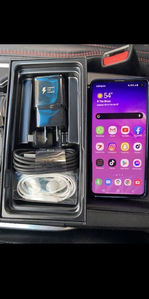 Unlocked new Samsung Galaxy S10 for Sale in New Orleans, LA