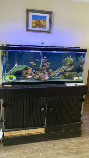75 gallon fresh water aquarium for Sale in Kent, WA