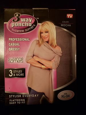 3 way pancho size XL-3X for Sale in San Jose, CA