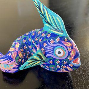 Fish- Oaxacan Wood Carving for Sale in Marietta, GA