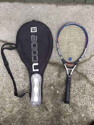 Head ti Laser mid plus tennis racket with bag for Sale in Seattle, WA