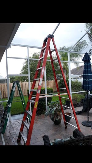 Werner 10ft ladder for Sale in Land O' Lakes, FL