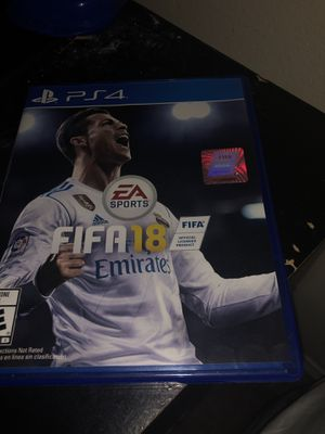 Fifa 18 PS4 for Sale in Houston, TX