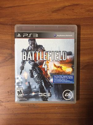 Battlefield 4 - Ps3 for Sale in Moreno Valley, CA