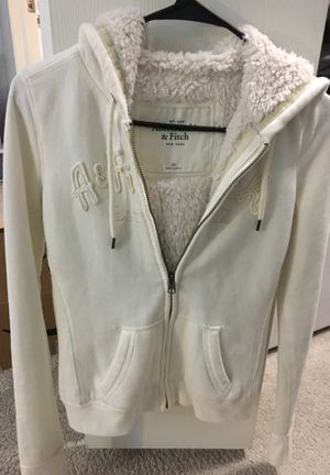 Used Abercrombie & Fitch hoodie jacket for Sale in Ann Arbor, MI