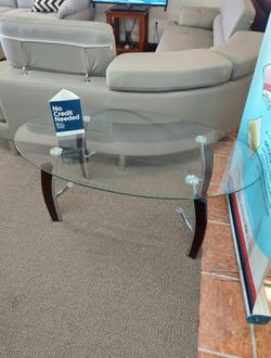 """(SHOWROOM) COFFEE TABLE GLASS 46"""""""" for Sale in Irving,  TX"""