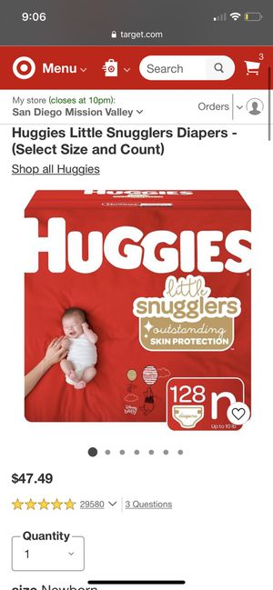 Huggies little snugglers diapers for Sale in San Diego, CA