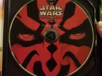 Star Wars 1 & 2 DVD Bundle for Sale in Richmond,  TX