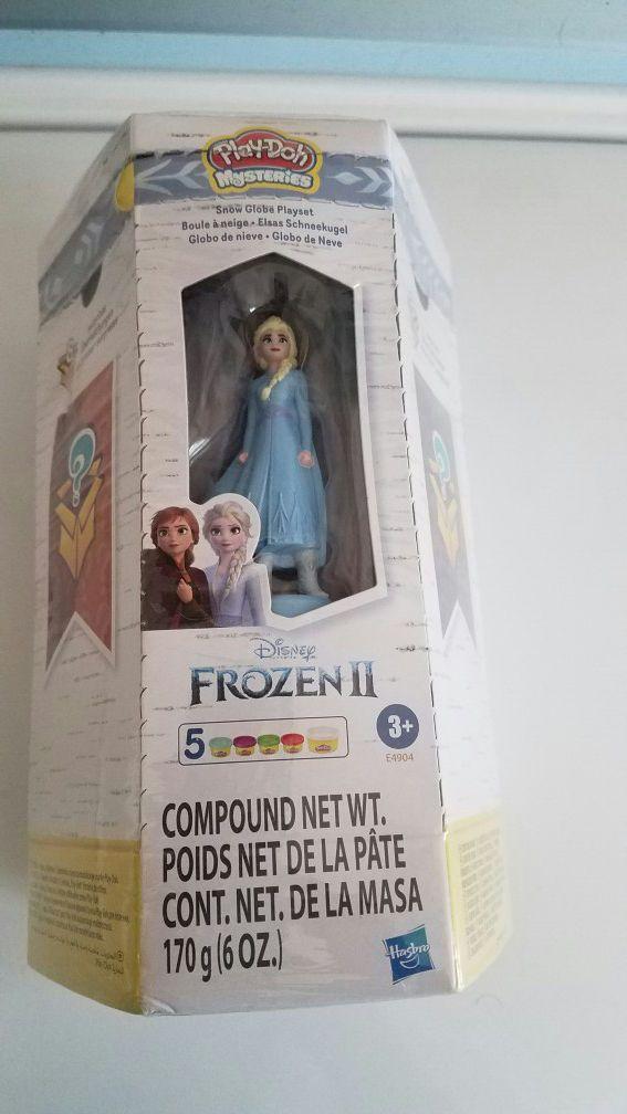 New Frozen 2 Elsa playdoh