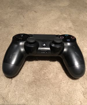Ps4 Black Controller Wireless Dualshock Playstation 4 Remote for Sale in Riverside, CA