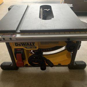 "Dewalt Flexvolt 8 1/4"" Table Saw for Sale in Fort Worth, TX"